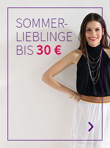 Frühlings-Lieblinge bis 30€