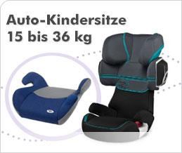 Auto-Kindersitze 15 bis 36 kg
