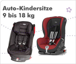 Auto-Kindersitze 9 bis 18 kg