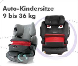 Auto-Kindersitze 9 bis 36 kg