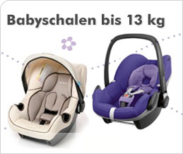 Babyschalen bis 13 kg