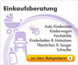 Auto-Kindersitze, Kinderwagen, Hochstühle, Kinderbetten, Fläschchen, Schnuller