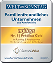 Familienfreundlichstes Unternehmen