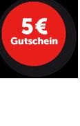 Jetzt anmelden und 5 Euro Gutschein sichern!