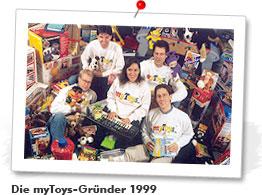 Die myToys.de Gründer 1999