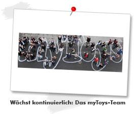 Wächst kontinuierlich: Das myToys-Team