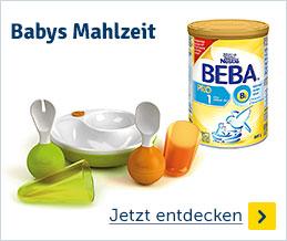 Babys Mahlzeit
