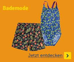 Sommermode Bademode