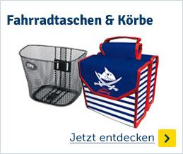 Fahrradtaschen & Körbe