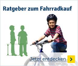 Radgeber zum Fahrradkauf
