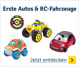 Erste Autos & RC-Fahrzeuge