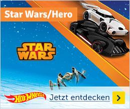 Hot Wheels Star Wars/Hero