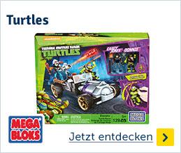 Megabloks Turtles