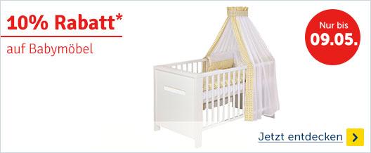 10% auf Babymöbel